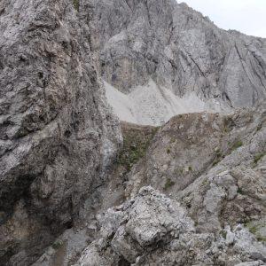 Viel Fels auf dem Weg