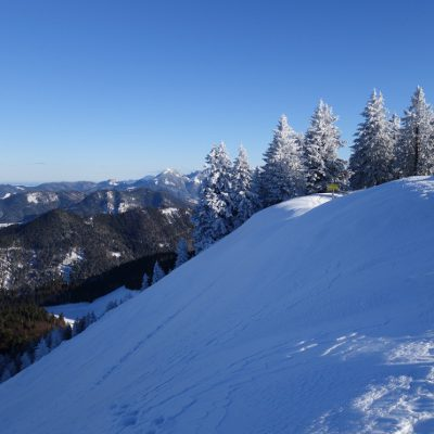 Gipfel Baumgartenschneid