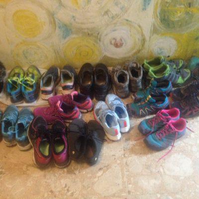 Viele viele Laufschuhe
