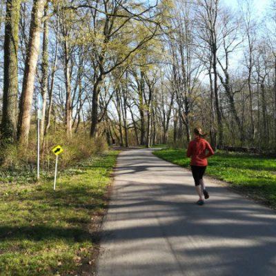 Laufen beim Parkrun
