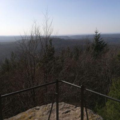 Aussicht vom Westfels