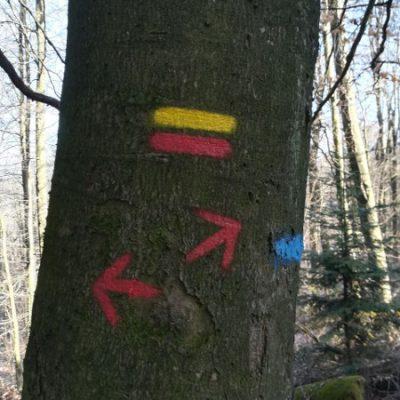 Beschriftung in der Pfalz