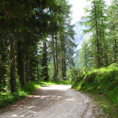 Aufstieg zum Rifugio Col de Varda