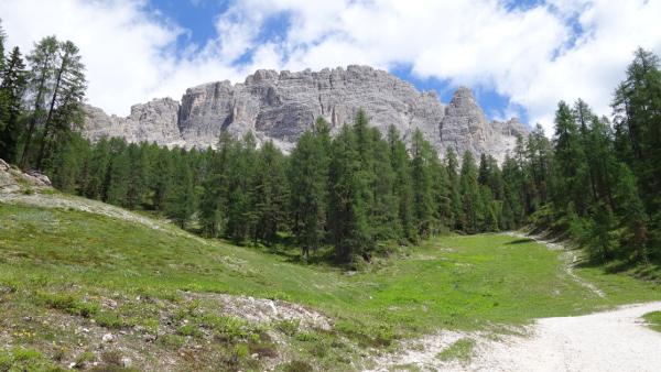 Weg in die Dolomiten