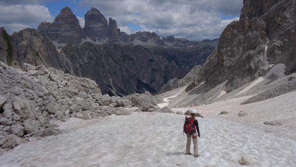 Sextner Dolomiten: Misurinasee – Fonda-Savio-Hütte – Bonacossaweg – Rifugio Lavaredo