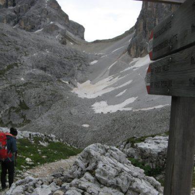 Abstieg ins Tal