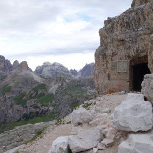 Eingang zum Paternkofel Klettersteig