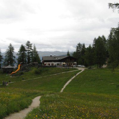 Zwischenstopp und Ziel Rotwandwiesenhütte