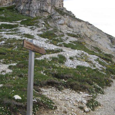Weg zum Toblinger Knoten und Sextner Stein