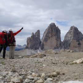 Sextner Dolomiten: Rifugio Lavaredo – Drei-Zinnen-Hütte – Toblinger Knoten – Zsigmondyhütte