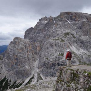 Auf dem Weg zum Klettersteig