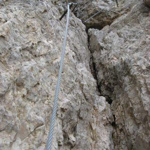 Einige Kletterstellen sind dabei